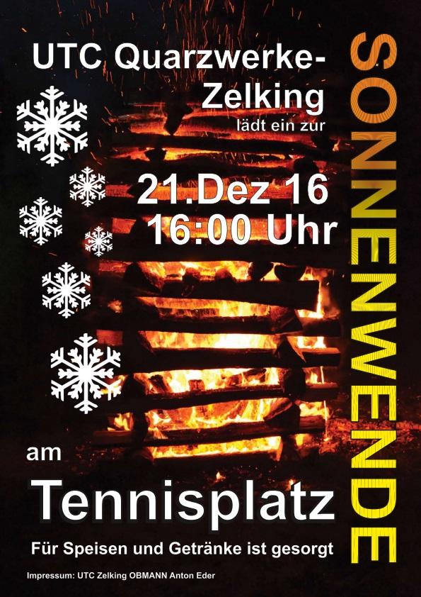 Plakat Wintersonnenwende 2016